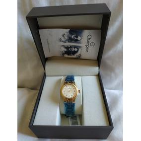 Relógio Feminino Champion Cn28197h Pronta Entrega