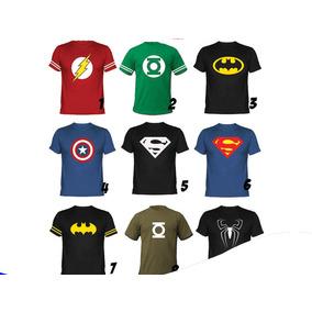 Playera Personalizada Superheroes Capitan America Batman