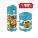 Garrafa Térmica Patrulha Canina + Pote Thermos®