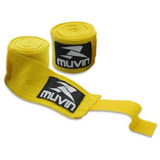 Bandagem Elástica 3 Metros Muvin Para Muay Thai, Boxe