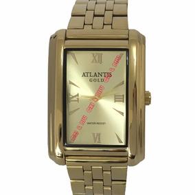 7654ad0ec8856 Relogio Atlantis Masculino Quadrado - Joias e Relógios no Mercado ...