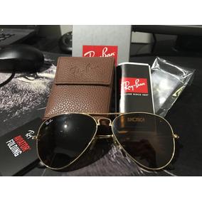 e7e5bc92abe47 Óculos De Sol Ray-Ban Aviator, Usado no Mercado Livre Brasil