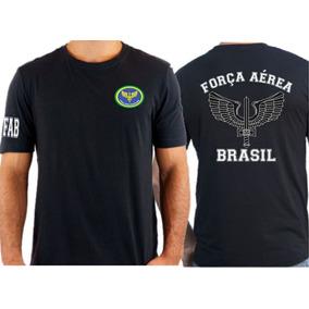 Camiseta Fab Aeronautica - Camisetas e Blusas no Mercado Livre Brasil 1a07eb7419e