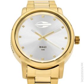 Relógio Mormaii Feminino Dourado Mo2035gn/4k + Nf
