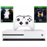 Consola Xbox One S 1tb Bundle Halo 5 Y Halo Master Chief