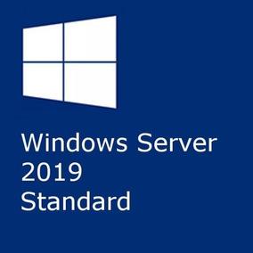 Windows Server 2019 Standard + 50 Cals Rds User + Nf-e