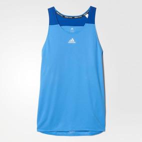 Camiseta Regata adidas Machão Response Singlet. Rio de Janeiro · adidas  Regata Reponse Running Azul (g)   Kit 2 (duas) Peças 63bb8424ca194