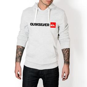 Blusa De Frio Quiksilver - Calçados, Roupas e Bolsas Branco no ... 8f1fc66368