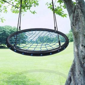 1 * 24 Blue Spider Web Tree Swing - Gigante De Color D-7262