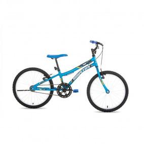 Bicicleta Trup Aro 20 Sem Marcha Azul Fosco - Houston