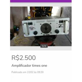 Amplificador Times One Rf 802