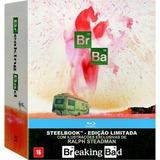 Blu-ray - Breaking Bad: A Coleção Completa - Steelbook