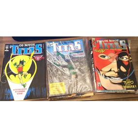 Novos Titãs Coleção Completa Da Editora Abril!!