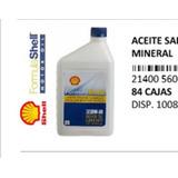 Aceite Para Motor Shell 20w-50 Formula. Norma Api Sn.