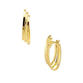Arracadas Oro Amarillo-eg373y