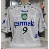 b385abffb2 Camisa Oficial Palmeiras Parmalat Rhumell 10 Leilão!!! - Camisas de ...