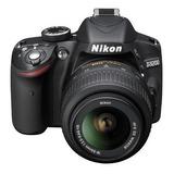Camara Nikon D3200 24.2 Mp Digital Slr Af-s Dx 18-55mm Lente