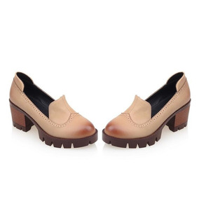 Sapato Britanico Feminino De Salto Alto37,38 Lindo!!