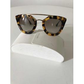 6b6d4a1196d8a Oculos Feminino - Óculos De Sol Prada Sem lente polarizada