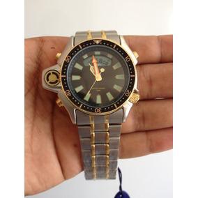 11d05cdd91c Relogio Atlantis Aqualand Jp2000 Original Serie Ouro