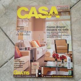 Revista Casa Claudia Abril 2001 Como Dispor Móveis Na Sala