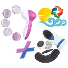 Exfoliador Facial 5 En 1 + Kit Removedor Callos Oferta Crazy