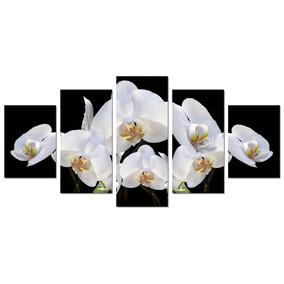 Quadro Decorativo Sala Escritório - Orquídeas - Flores