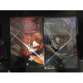 Coleção Rurouni Kenshin Samurai X Versão Do Autor Completo