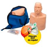 Muñeco Rcp Practiman B1 Adulto Y Pediatrico + Pocket Mask