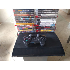 Playatation 3 + Controle Original,hd, E 3 Jogos A Escolha