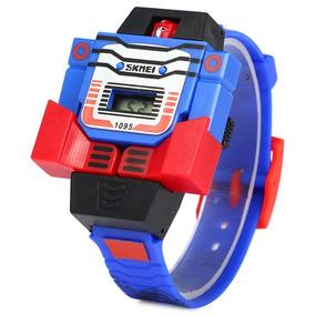 Reloj De Pulsera Transformer, Reloj De Pulsera Para Niño