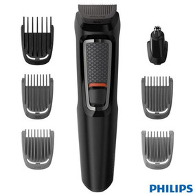Aparador De Pelos Philips Multigroom 7x1 - Mg3721/15 Bivolt