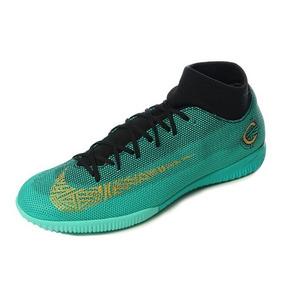 Botines Nike Mercurial Cr7 Negro Y Verde - Botines en Mercado Libre ... fc05e452b47c8