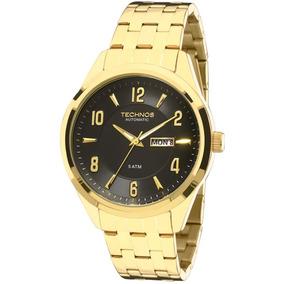 bdb09e4b548 Relogio Techno Masculino Automatico Dourado - Relógio Technos ...
