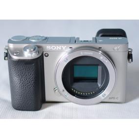 Câmera Sony Mirrorless Alpha A6000 Ilce (corpo) 24.3mp