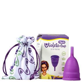 Violeta Cup Tipo B (-30 Anos/sem Filhos) Coletor Menstrual