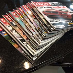 Lote Com 13 Revistas Coleção Motor Show -automóvel- Antigas-
