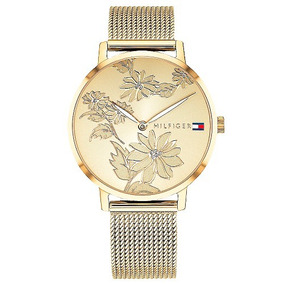 cfeeff43455 Relogios Dourados Tommy Hilfiger - Relógios De Pulso no Mercado ...