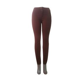 Pantalon Dama A La Cintura Tipo Lona Strech