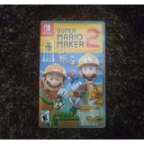 Super Mario Maker 2 Como Nuevo + Envío Gratis