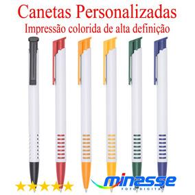100 Canetas Mod. 3017 Personalizada - Imp.colorida Promoção