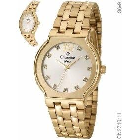 f3bbefb932c Relógio Feminino Champion Analógico Social Cn29249h - Relógios De ...