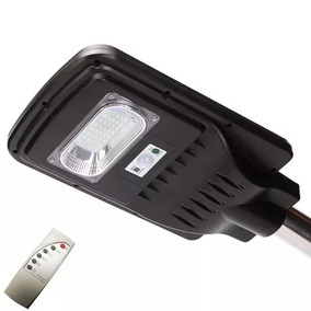 Kit 3 Luminaria Solar Parede Led 20w Sensor Movimento