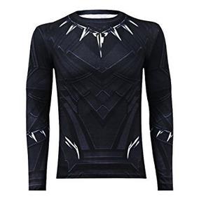 Set De 2 Pz Pantalon-camisa Hombre De Pantera Negra Talla M