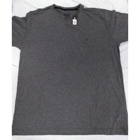 Camiseta Masculina Código Zero - Cor Chumbo Tamanho Xg