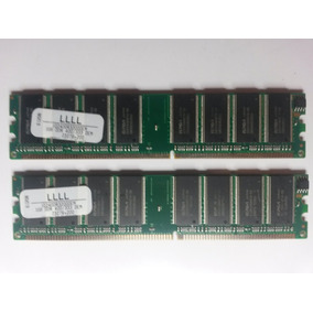 Memorias 1gb Ddr3200 400/300 (par)
