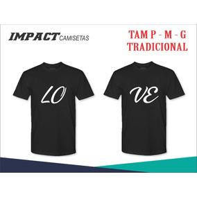 Camiseta Love Casal, Namorados