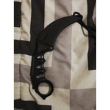 Cuchillo Karambit Negro Nuevo Con Funda Cs Go