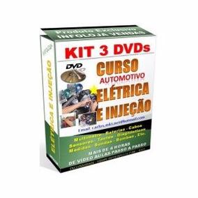 Curso 4 Dvds Eletrica Automotiva E Injeção Eletrônica A17