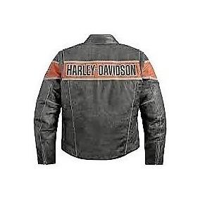 Cuero Chaqueta De Chile Libre Chaquetas Harley Mercado En Davidson Fq5qr